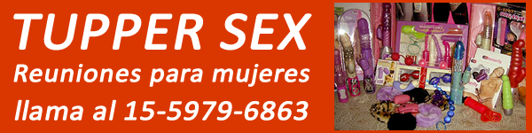 Banner Sex shop en Banfield